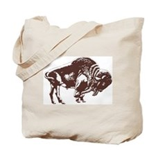 Love Buffalo Tote Bag