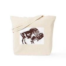 Love Buffalo Tote Bag