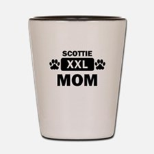 Scottie Mom Shot Glass