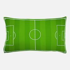 Soccer Field Pillow Case
