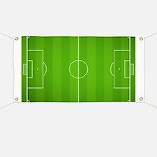 Soccer Field Banner