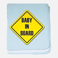 Baby IN Board baby blanket