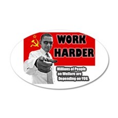 obamawork.png Wall Decal