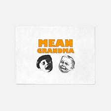 Mean Grandma 5'x7'Area Rug