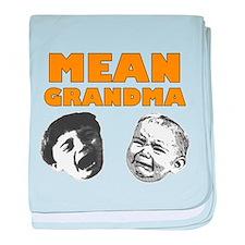 Mean Grandma baby blanket
