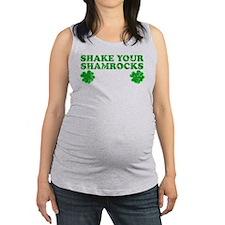 Shake Your Shamrocks Maternity Tank Top