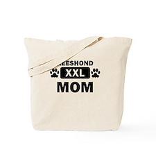 Keeshond Mom Tote Bag