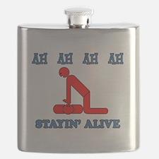 Stayin' Alive Flask