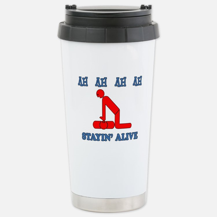 Stayin' Alive Travel Mug