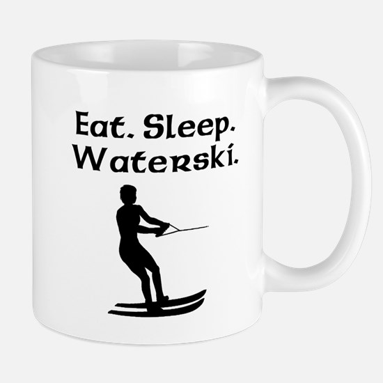 Eat Sleep Waterski Mugs