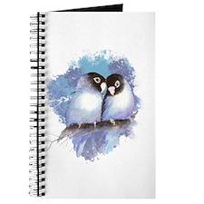 Cute Watercolor Lovebird Bird Nature Art Journal