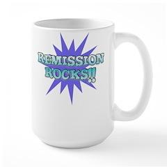 REMISSION ROCKS Large Mug