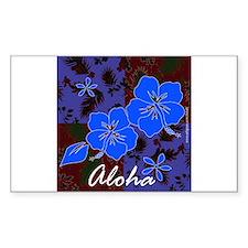 Aloha 2 Rectangle Decal
