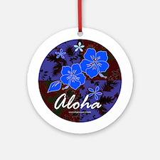 Aloha 2 Ornament (Round)
