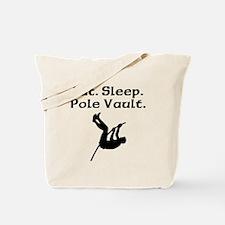 Eat Sleep Pole Vault Tote Bag