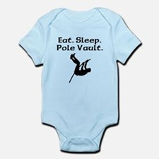 Eat Sleep Pole Vault Body Suit