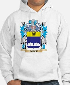 Pogue Coat of Arms - Family Cres Hoodie