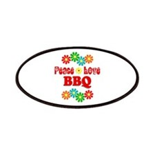 Peace Love BBQ Patch
