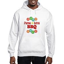 Peace Love BBQ Hoodie