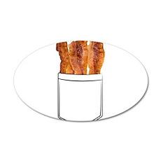 Bacon Pocket Wall Decal
