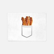 Bacon Pocket 5'x7'Area Rug