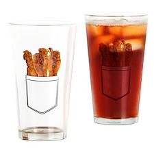 Bacon Pocket Drinking Glass