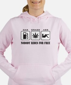 No Free Rides Women's Hooded Sweatshirt