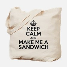 Keep Calm Sandwich Tote Bag