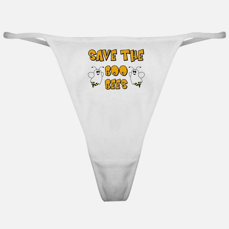 Save the Boo Bees Classic Thong