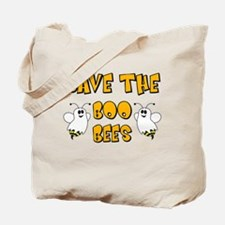Save the Boo Bees Tote Bag