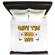 Save the Boo Bees King Duvet