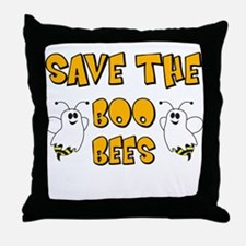 Save the Boo Bees Throw Pillow