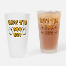 Save the Boo Bees Drinking Glass