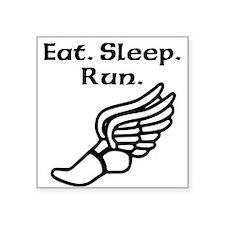 Eat Sleep Run Sticker