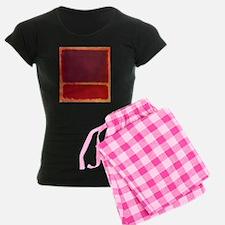 ROTHKO ORANGE RED Pajamas