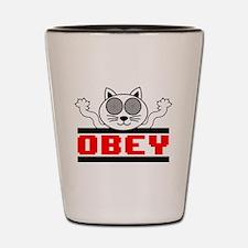 Obey Shot Glass