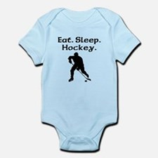 Eat Sleep Hockey Body Suit