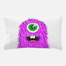 Purple Monster Pillow Case