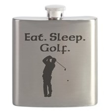 Eat Sleep Golf Flask