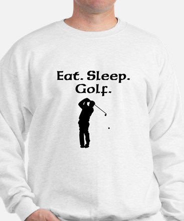 Eat Sleep Golf Sweatshirt