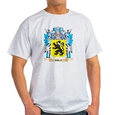 Poly Coat of Arms - Family Crest T-Shirt