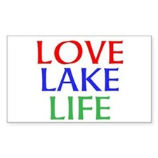 LOVE LAKE LIFE Decal