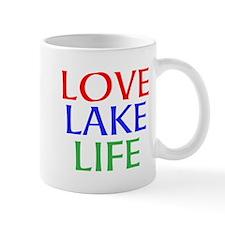LOVE LAKE LIFE Mugs