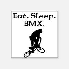 Eat Sleep BMX Sticker