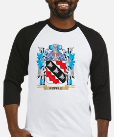 Popple Coat of Arms - Family Crest Baseball Jersey