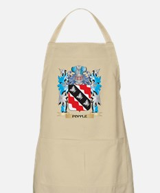 Popple Coat of Arms - Family Crest Apron