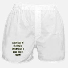 Bad Fishing day Boxer Shorts