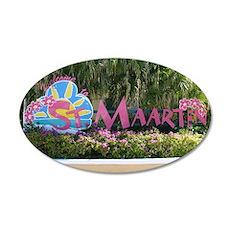 St. Maarten sign Wall Decal