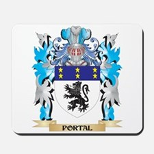 Portal Coat of Arms - Family Crest Mousepad