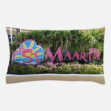 St. Maarten sign Pillow Case